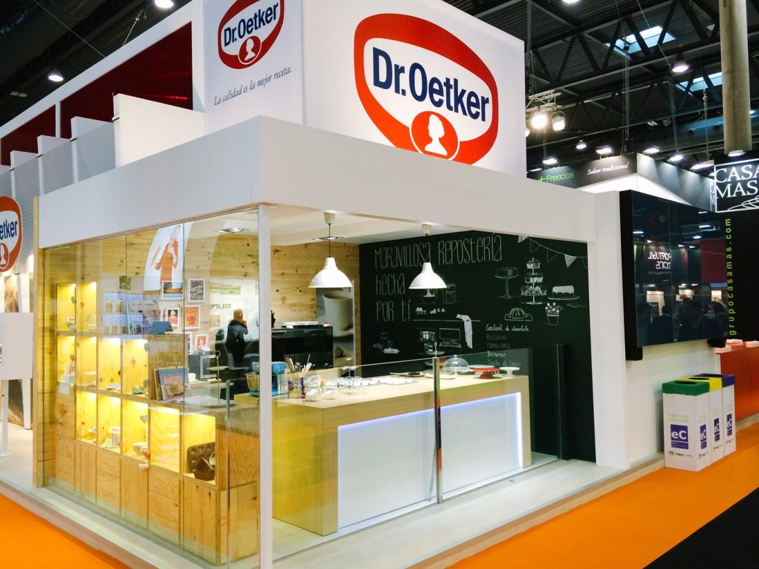 Diseño Stand Alimentaria - Dr. Oetker